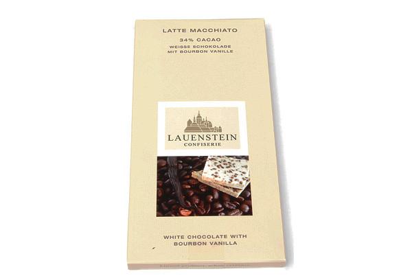 Latte Macchiato, 34 % Cacao mit Bourbon Vanille
