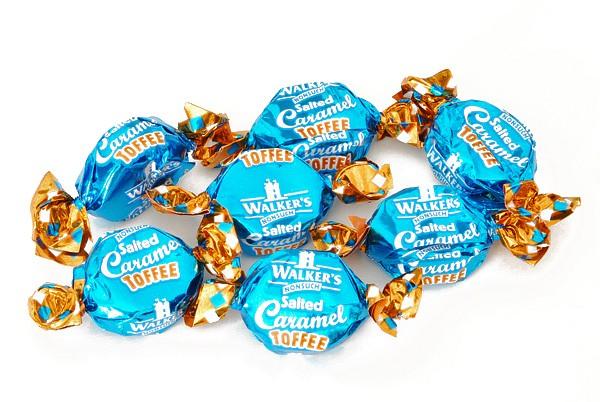 Walkers Caramel/Seasalt