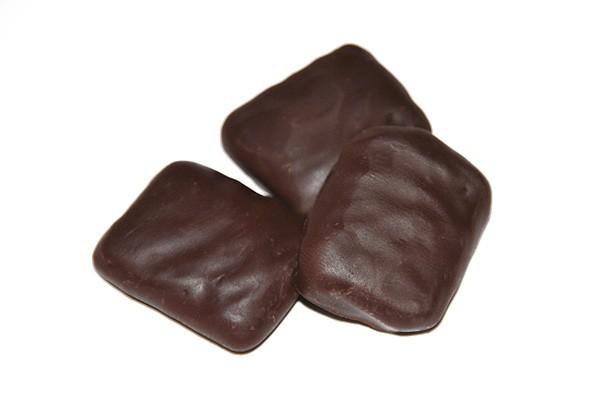 Salmiak Brocken, Zartbitter Schokolade
