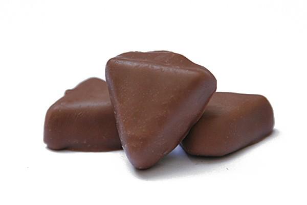 Salmiak Dreiecke, Vollmilch Schokolade