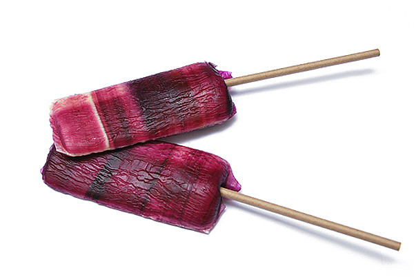 Brombeer Lolly