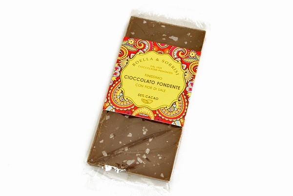 Cioccolato Fondente Con Fior Di Sale 55%