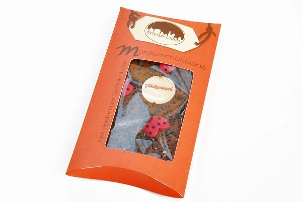 Glückwunsch Lakritz Vollmilchschokolade
