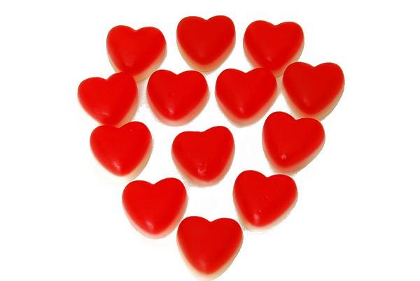 Himbeer-Vanille Herzen