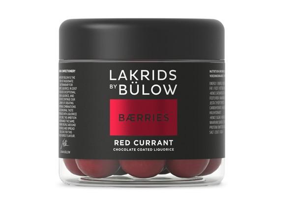 LAKRIDS Berries Red Currant Choc coated Liquorice